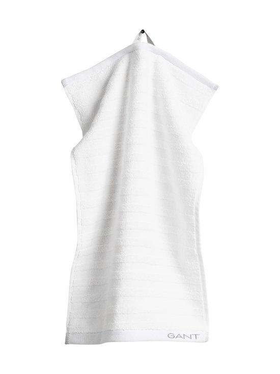 Gant Home - Organic Line -pyyhe 30 x 50 cm - 110 WHITE   Stockmann - photo 1