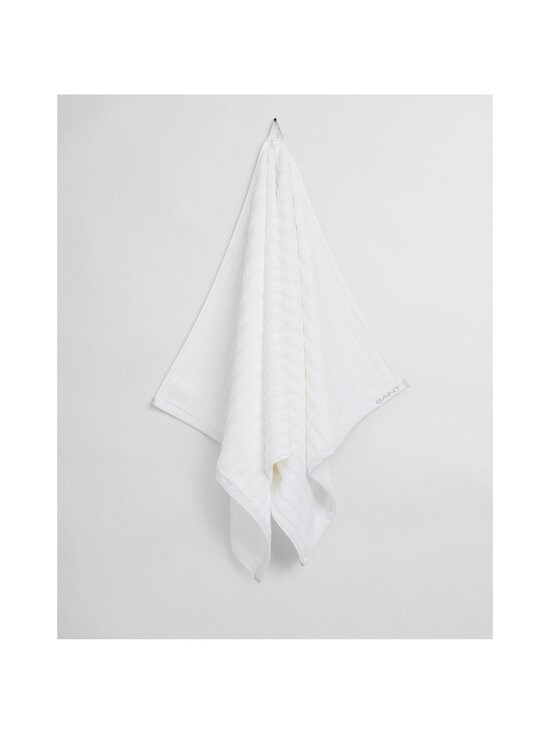 Gant Home - Organic Line -pyyhe 30 x 50 cm - 110 WHITE   Stockmann - photo 2