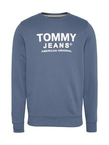 Tommy Jeans - Tjm Essential Graphic Crew -collegepaita - C0Z FADED INK | Stockmann