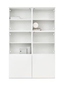 Lundia - Fuuga-vitriini 35 x 194 x 128 cm - WHITE PAINTED MDF/GLASS | Stockmann