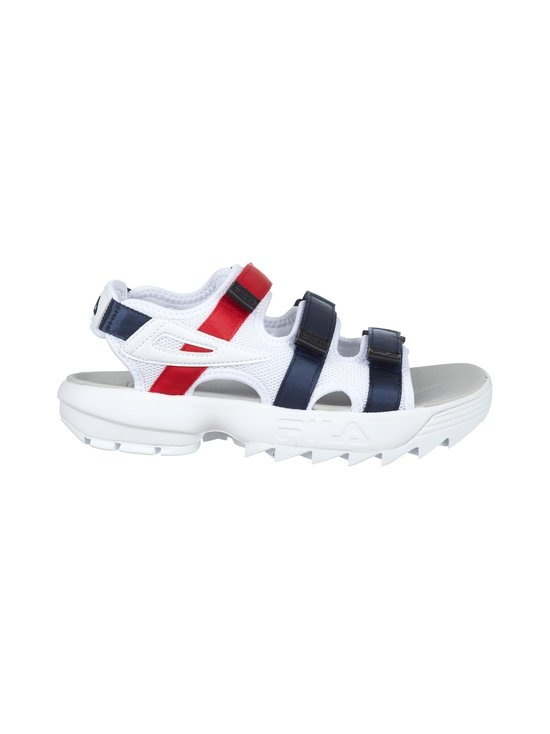 Fila - Disruptor-sandaalit - 01M - WHITE / FILA NAVY / FILA RED | Stockmann - photo 1