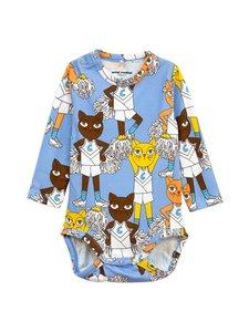 Mini Rodini - Cheercats-body - BLUE | Stockmann