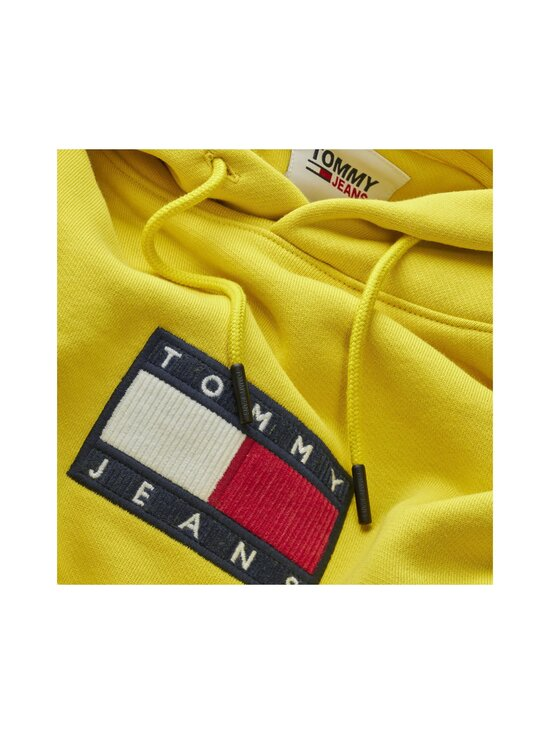 Tommy Jeans - Tjm Small Flag Hoodie -huppari - ZH3 VALLEY YELLOW | Stockmann - photo 3