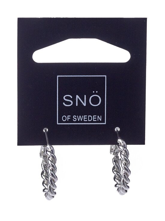 Snö Of Sweden - Way Small Ring -korvakorut - PLAIN S | Stockmann - photo 1