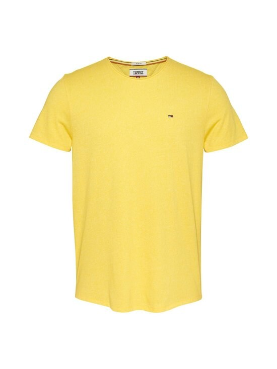 Tommy Jeans - Tjm Essential Jaspe Tee -paita - ZGQ STAR FRUIT YELLOW | Stockmann - photo 1