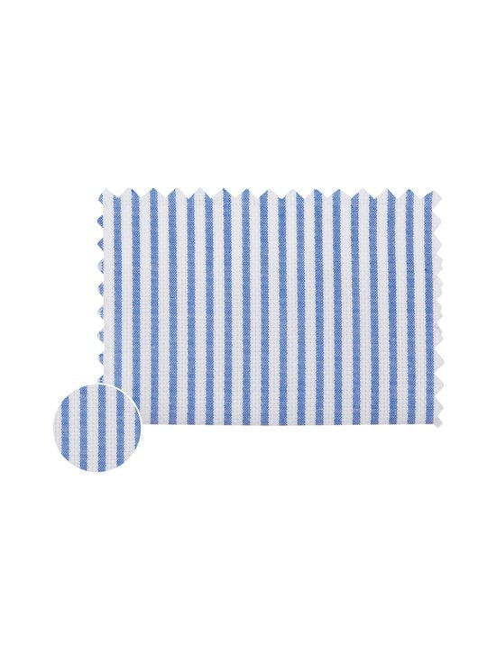 Tommy Hilfiger Tailored - Stripe Classic Slim -kauluspaita - 0GY BLUE/WHITE | Stockmann - photo 3