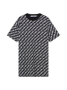 Calvin Klein Jeans Plus - Mekko - 0GJ INSTITUTIONAL LOGO AOP BLACK/WHITE   Stockmann