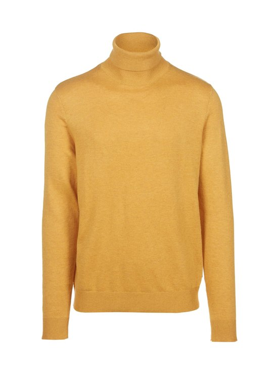 Jack & Jones - JjeEmil Knit Roll Neck -puuvillasekoiteneule - SPICY MUSTARD | Stockmann - photo 1