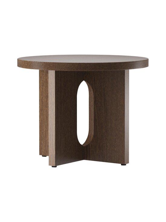Menu - Androgyne -sivupöytä Ø 50 cm - DARK STAINED OAK | Stockmann - photo 1