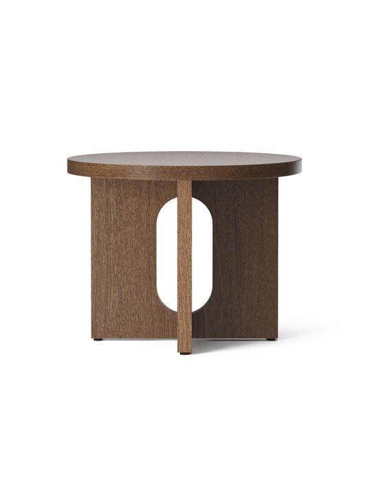 Menu - Androgyne -sivupöytä Ø 50 cm - DARK STAINED OAK | Stockmann - photo 2