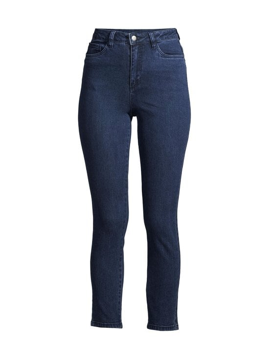 NA-KD - Highwaist Skinny Jeans -farkut - DARK BLUE   Stockmann - photo 1