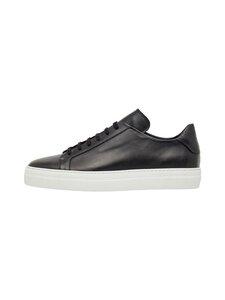 J.Lindeberg - Signature Leather -nahkatennarit - 9999 BLACK | Stockmann