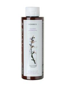 Korres - Almond & Linseed -shampoo kuiville ja vahingoittuneille hiuksille 250 ml - null | Stockmann