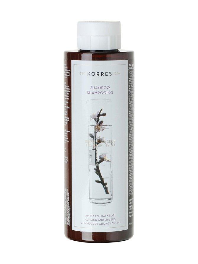 Almond & Linseed -shampoo kuiville ja vahingoittuneille hiuksille 250 ml