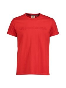 Superdry - Sportstyle Embossed Tee -paita - OPI RISK RED | Stockmann