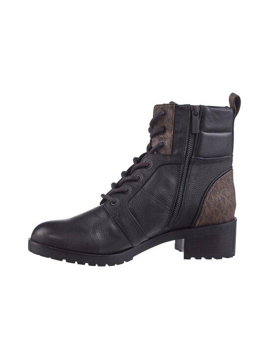 Michael Michael Kors - Bronte Ankle Boot -nahkanilkkurit - 007 BLK/BROWN | Stockmann - photo 4