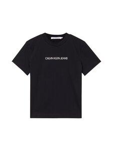 Calvin Klein Jeans - Shrunken institutional -t-paita - BEH CK BLACK   Stockmann