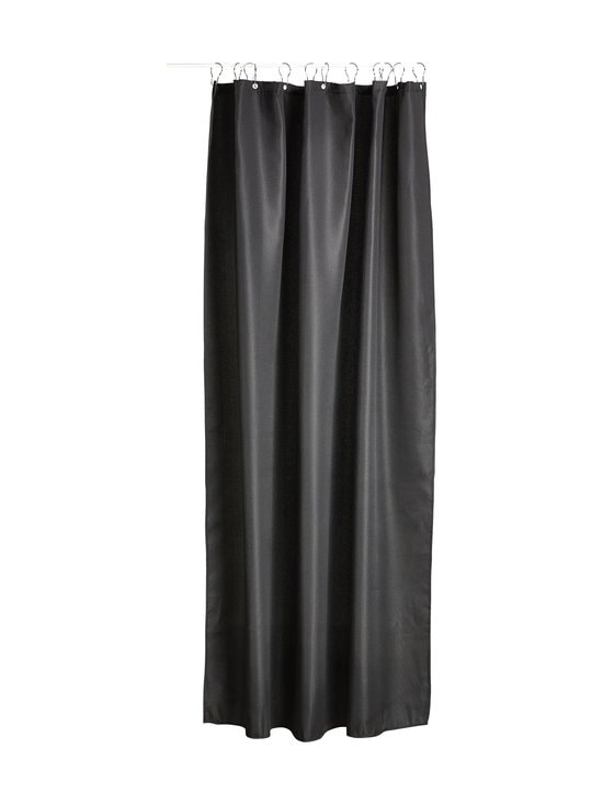 Zone - Shower Curtain Lux -suihkuverho 180 x 200 cm - BLACK   Stockmann - photo 1