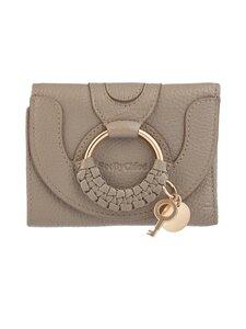 See By Chloe - Compact Wallet -nahkalompakko - MOTTYGREY 23W | Stockmann