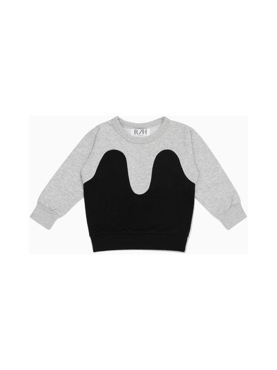 R/H - Magic Sweater -collegepaita - LIGHT GREY / BLACK   Stockmann - photo 1