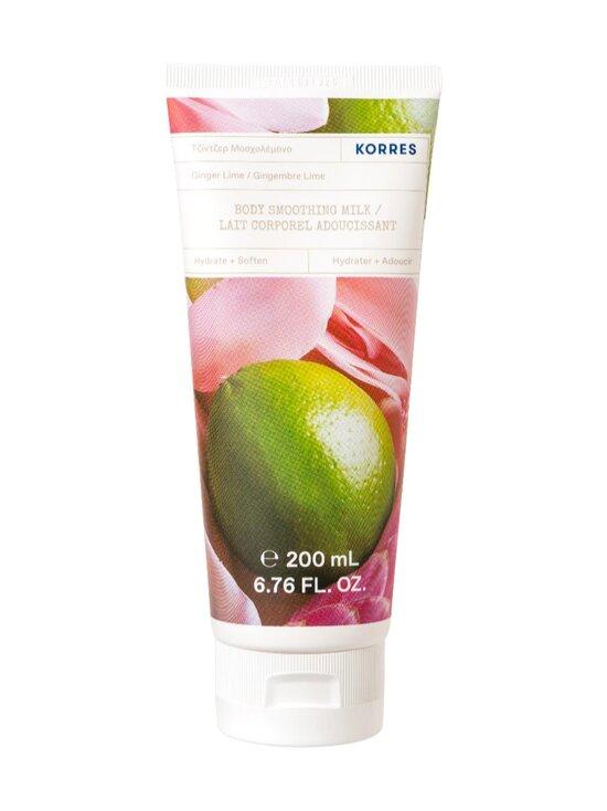Korres - Ginger Lime Body Milk -vartalovoide 200 ml - NOCOL | Stockmann - photo 1
