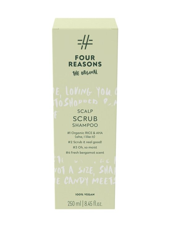 Four Reasons - Scalp Scrub -shampoo 250 ml - NOCOL | Stockmann - photo 2