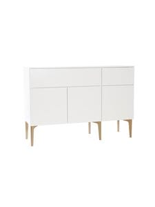 Lundia - Fuuga-senkki 48 x 100 x 144 cm - VALKOINEN/TAMMI | Stockmann