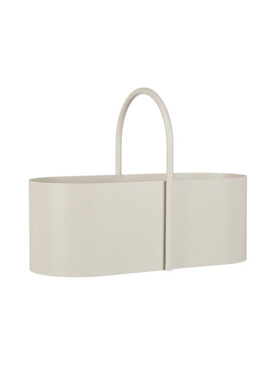 Ferm Living - Grib Toolbox -säilytyslaatikko - LIGHT GREY   Stockmann - photo 1