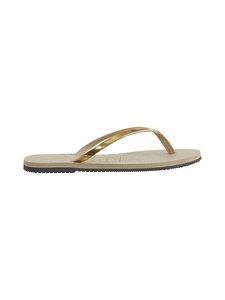 Havaianas - You Metallic Flip Flops -varvassandaalit - 2719 SAND GR/LT GOLD | Stockmann