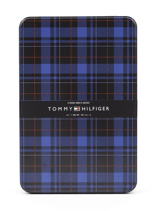 Tommy Hilfiger - Tin Giftbox -sukat 5-pack - 002 DARK NAVY | Stockmann - photo 3