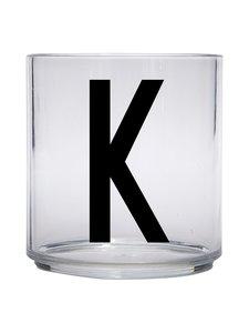 Design Letters - Kids Personal Drinking Glass -juomalasi, K - KIRKAS | Stockmann