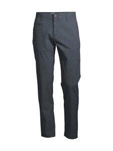 Knowledge Cotton Apparel - Chuck Pattern Pants -housut - 1001 TOTAL ECLIPSE | Stockmann