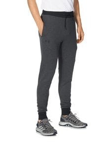 Under Armour - Unstoppable 2X Knit Jogger -housut - BLACK/BLACK | Stockmann