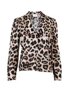 Neo Noir - Mommo Crisp Leo Shirt -pusero - 400 LEOPARD | Stockmann