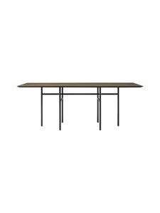 Menu - Snaregade -ruokapöytä 200 x 90 cm - DARK STAIND OAK, BLACK | Stockmann