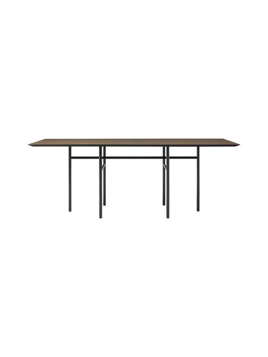 Menu - Snaregade -ruokapöytä 200 x 90 cm - DARK STAIND OAK, BLACK   Stockmann - photo 1
