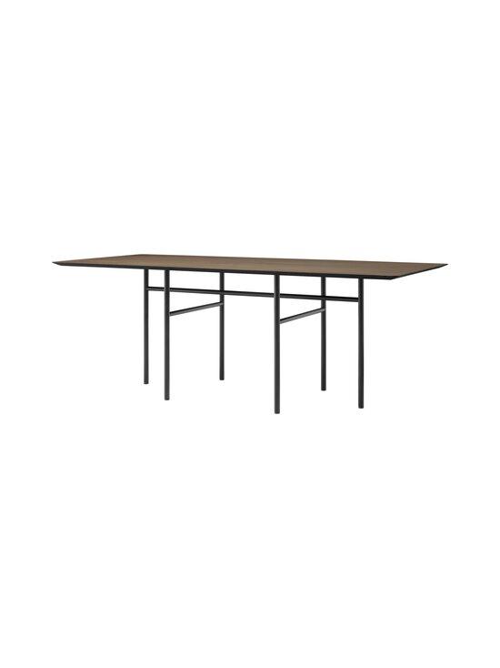 Menu - Snaregade -ruokapöytä 200 x 90 cm - DARK STAIND OAK, BLACK   Stockmann - photo 2