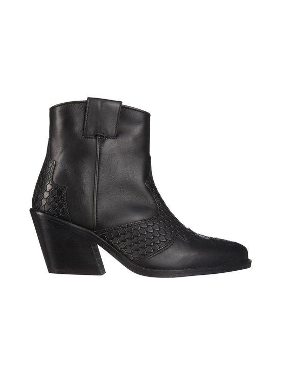 BIANCO - BiaCuba Snake Western Boots -nahkanilkkurit - 100 BLACK | Stockmann - photo 1