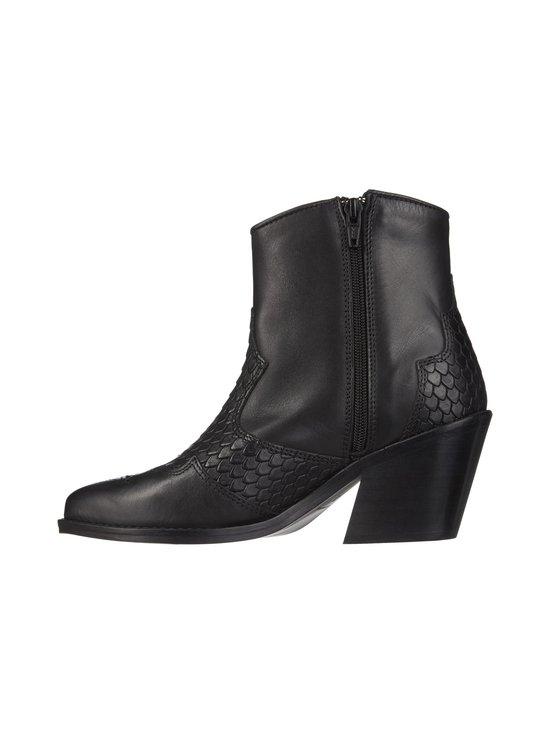 BIANCO - BiaCuba Snake Western Boots -nahkanilkkurit - 100 BLACK | Stockmann - photo 4