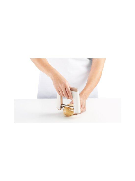 Lékué - Hasselback Cutter -vihannesleikkuri - WHITE/GREEN | Stockmann - photo 5