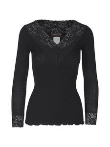 Rosemunde - Puuvillapaita - 010 BLACK | Stockmann