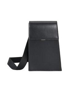 Tiger Of Sweden - Bisus Medium Leather Travel Bag -nahkalaukku - 050 BLACK | Stockmann