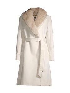Lauren Ralph Lauren - Wool-Blend Wrap Coat -villakangastakki - CHIC CREAM   Stockmann