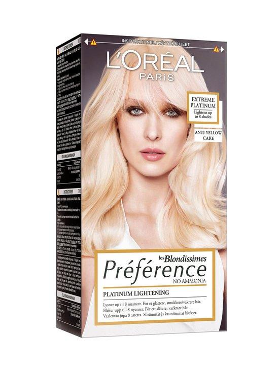 L'Oréal Paris - Preference Blond -hiusväri - EXTREME PLATINUM   Stockmann - photo 1