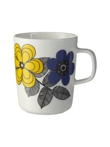 Marimekko - Oiva/Kestit-muki 2,5 dl - 125 DARK YELLOW BLUE | Stockmann