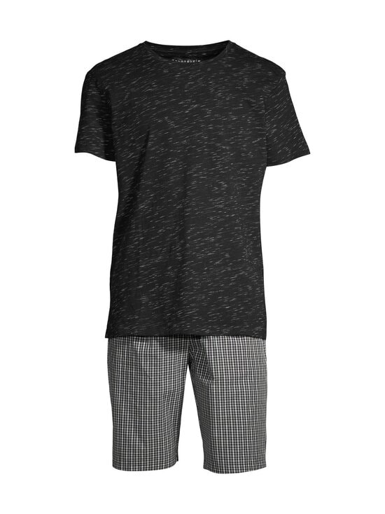 CONSTRUE - Naples-pyjama - BLACK/GREY CHECK | Stockmann - photo 1
