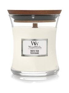 Woodwick - White Teak Mini -tuoksukynttilä - WHITE | Stockmann