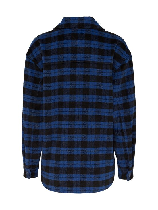 Tommy Jeans - Tjw Flannel Overshirt -paita - 0MV PROVIDENCE BLUE / BLACK CHECK | Stockmann - photo 2