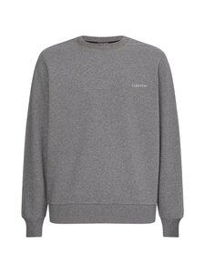 Calvin Klein Menswear - Small Chest Logo Sweatshirt -collegepaita - P4A MID GREY HEATHER   Stockmann