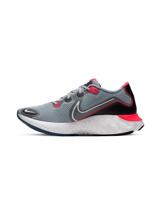 Nike - Renew Run -juoksukengät - 401 OBSIDIAN MIST/WHITE-BLACK-LASER CRIMSON | Stockmann - photo 4